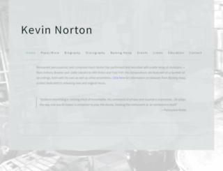 kevinnorton.com screenshot