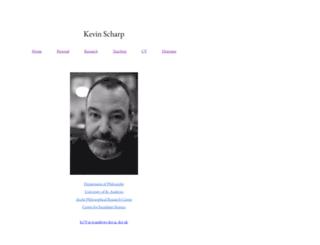 kevinscharp.com screenshot