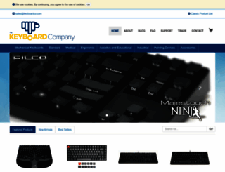 keyboardco.com screenshot