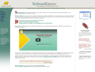 keyboardexpress.com screenshot