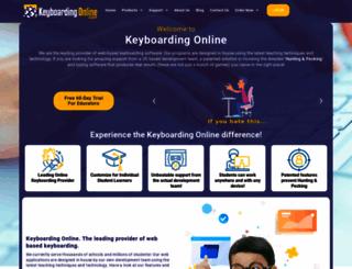 keyboardingonline.com screenshot
