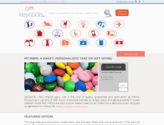 keycode.com screenshot
