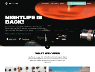 keyflow.com screenshot