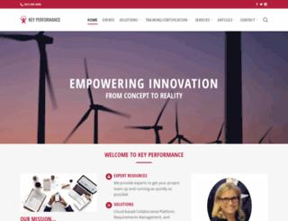 keyperformance.com screenshot