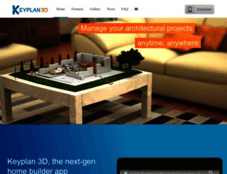 keyplan3d.com screenshot