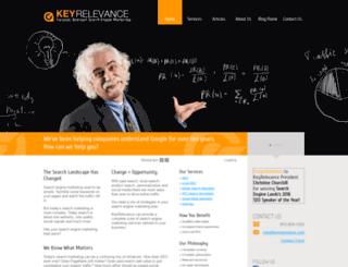 keyrelevance.com screenshot
