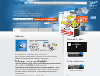 keyring-creator.co.uk screenshot