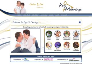 keys4marriage.co.za screenshot
