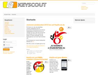 keyscout.de screenshot