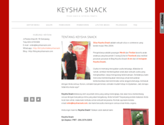 keyshasnack.com screenshot