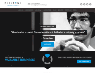 keystonemarketing.ca screenshot