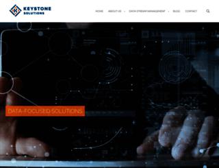 keystonesolutions.com screenshot