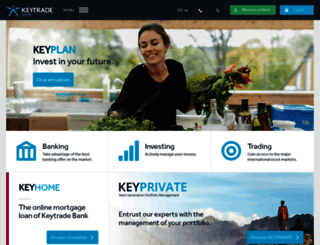 keytradebank.be screenshot
