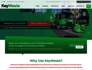 keywaste.ie screenshot