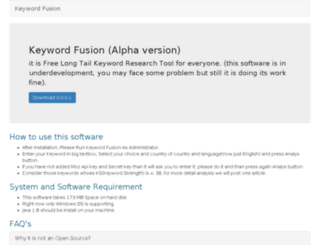 keywordfusion.com screenshot