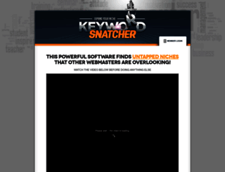 keywordsnatcher.com screenshot
