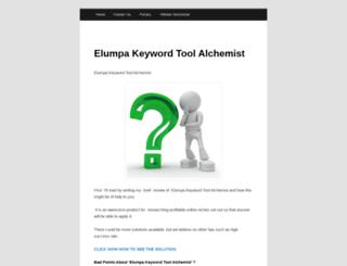 keywordtool.elumpaalchemist.com screenshot