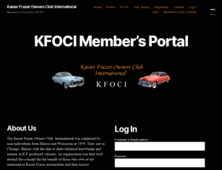 kfclub.com screenshot