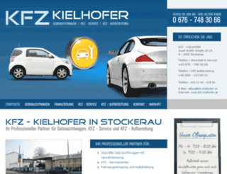kfz-kielhofer.at screenshot