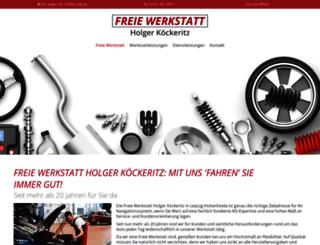 kfz-koeckeritz.de screenshot
