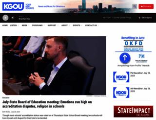 kgou.org screenshot