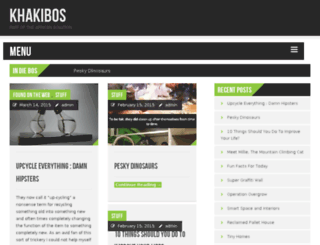 khakibos.co.za screenshot