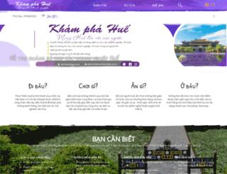 khamphahue.com.vn screenshot