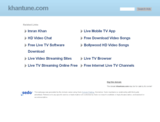 khantune.com screenshot