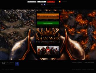 khanwars.ro screenshot