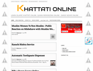 khattationline.blogspot.com screenshot