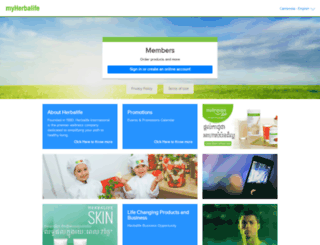 khen.myherbalife.com screenshot