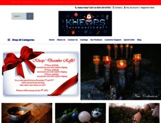 kheopsinternational.com screenshot