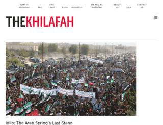 khilafah.com screenshot