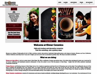 khmerceramics.com screenshot