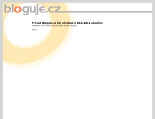 khotzilla.bloguje.cz screenshot