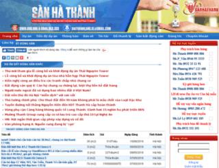 khudothimoianhung.sanhathanh.com screenshot