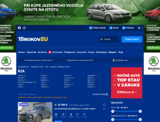kia.autobazar.eu screenshot
