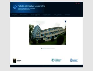 kia.prz.edu.pl screenshot