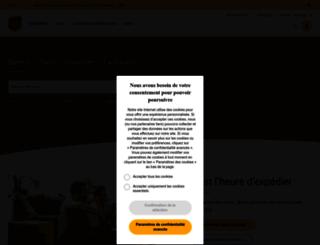 kiala.fr screenshot