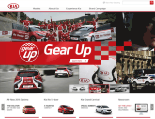 kiamotors.com screenshot