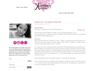 kiannaskorner.blogspot.de screenshot