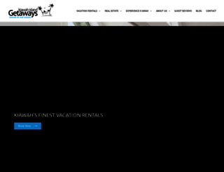 kiawahislandgetaways.com screenshot