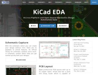 kicad-pcb.org screenshot