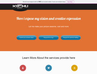 kichufx.hitart.com screenshot