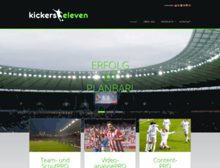 kickers11.com screenshot