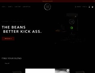 kickinghorsecoffee.com screenshot