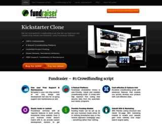 kickstarterscript.com screenshot