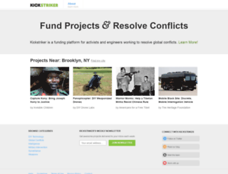 kickstriker.com screenshot