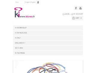 kicrea.fr screenshot