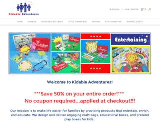 kidableadventures.com screenshot